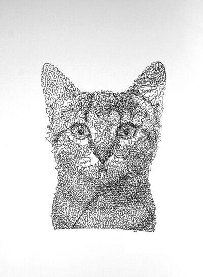 Patrick Lichty, 'RIC: Random Internet Cat #7', 2014