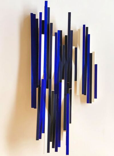 Cecilia Biagini, 'Pianoforte on blue', 2018