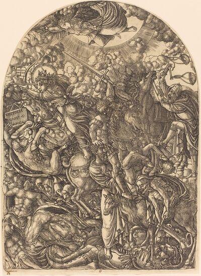 Jean Duvet, 'Saint John Sees the Four Horsemen', 1546/1556