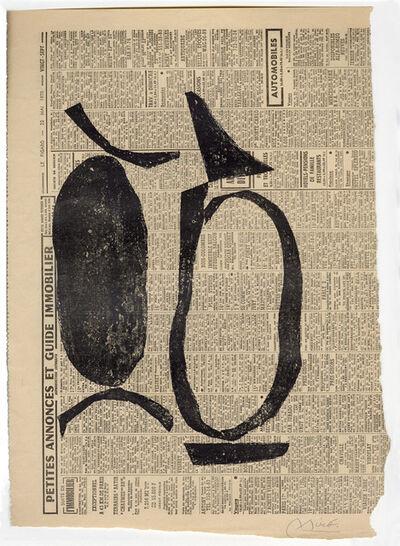 Joan Miró, 'Untitled I', 1970