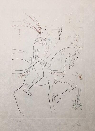 Salvador Dalí, 'Viviane et Lancelot du Lac', 1975