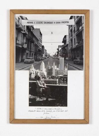 Ugo La Pietra, 'Abitare e essere ovunque a casa propria', 1969-1970