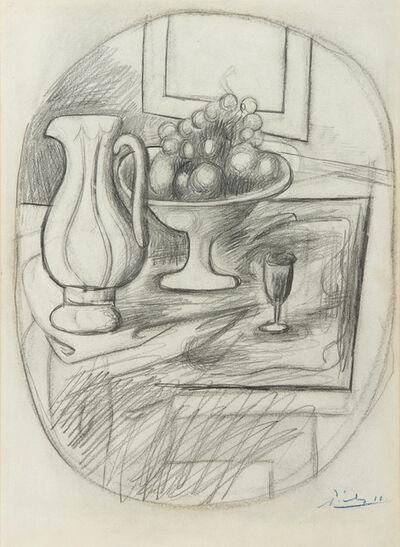 Pablo Picasso, 'Pot et compotier avec fruits', 1919