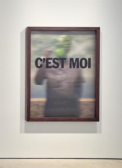 Hank Willis Thomas, 'C'est moi qui te regarde (Mobutu)', 2019