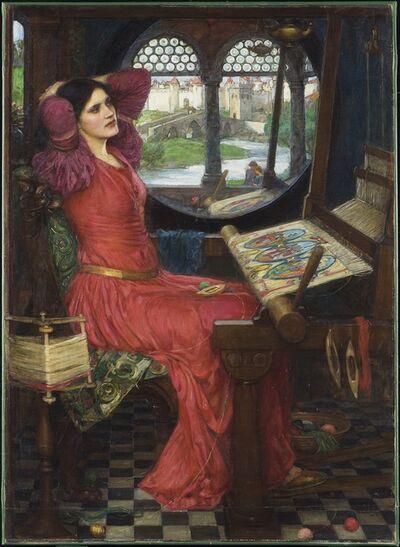 "John William Waterhouse, '""I am half sick of shadows,"" said The Lady of Shalott', 1915"