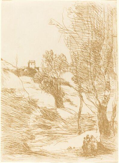Jean-Baptiste-Camille Corot, 'Souvenir of Salerno (Souvenir de Salerne)', 1871