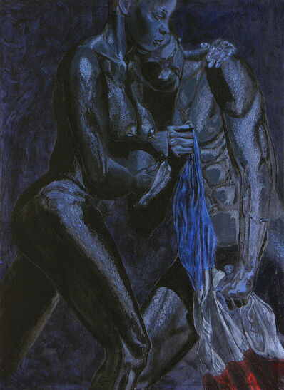 Kimathi Donkor, 'Jean-Jaques & Marie Claire Dessalines; Caribbean Passion: Haiti 1804 series', 2004