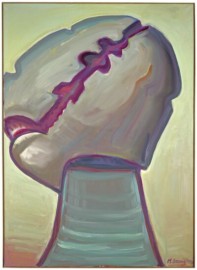 Maria Lassnig, 'Der Ritter (The Knight)', 1991