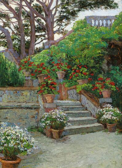 Hugo Charlemont, 'Garden in Brioni', ca. 1900