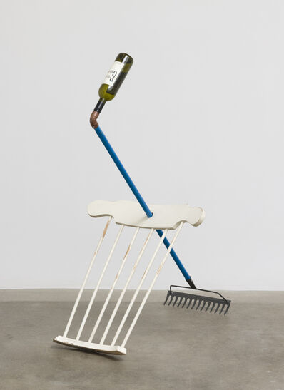 Amalia Pica, 'Catachresis #55 (neck of the bottle, elbow of the pipe, back of the chair, teeth of the rake)', 2016