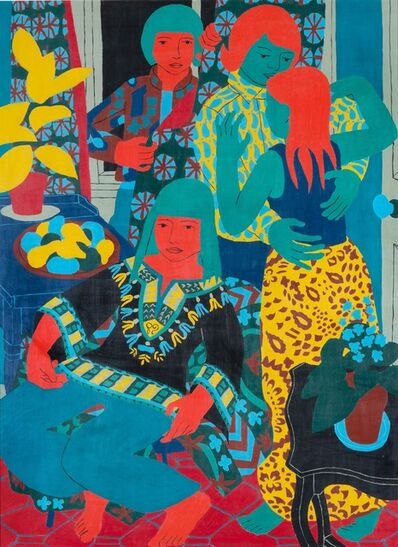 Norman Gilbert, 'Christmas Party', 1971