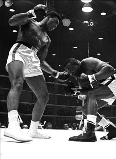 Harry Benson, 'Cassius Clay (Muhammad Ali) and Sunny Liston, Miami', 1964