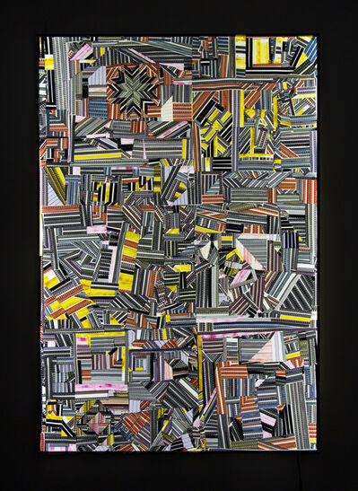 Sabrina Gschwandtner, 'Hands at Work Crazy Quilt (for Alana)', 2017
