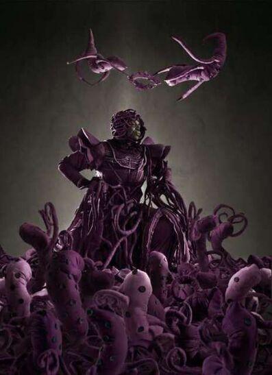 Mary Sibande, 'Admiration of the Purple Figure', 2013