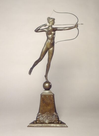 Augustus Saint-Gaudens, 'Diana of the Tower', Conceived 1892/1893; cast 1899