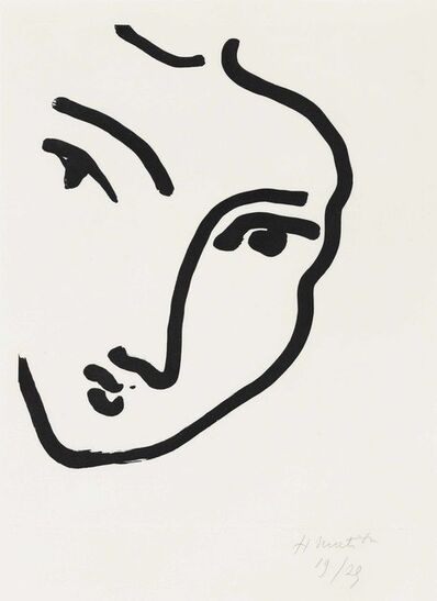 Henri Matisse, 'Nadia au menton pointu', 1948