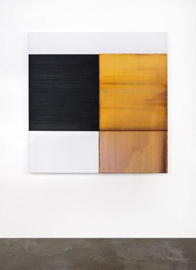 Callum Innes, 'Exposed Painting Quinacridone Gold / Violet', 2021