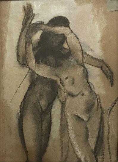 Arthur Bowen Davies, 'Two Nudes Dancing', n.d.