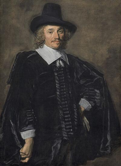 Frans Hals, 'Portrait of a Gentleman', 1650/1652