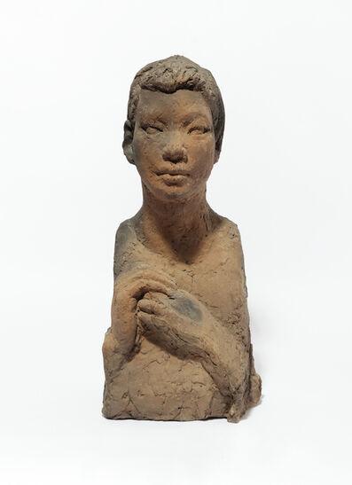 Kwon Jinkyu, 'Bust of a girl', 1964