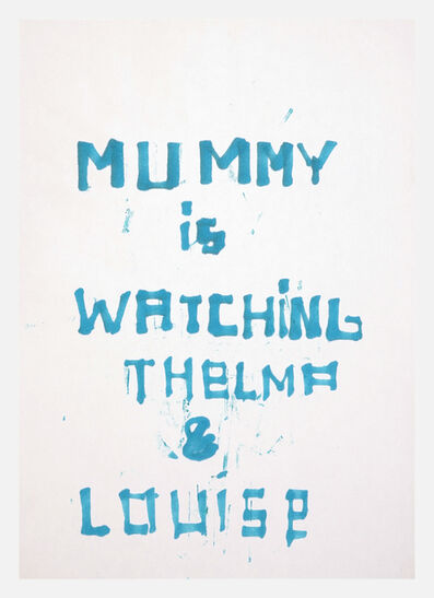 Anne-Lise Coste, 'Mummy is Watching Thelma & Louise', 2003