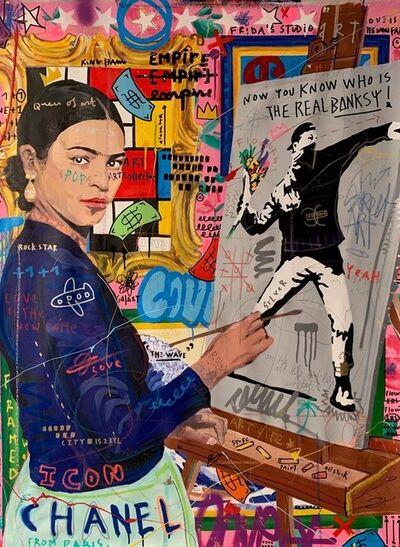 Jisbar, 'Frida's Studio', 2019