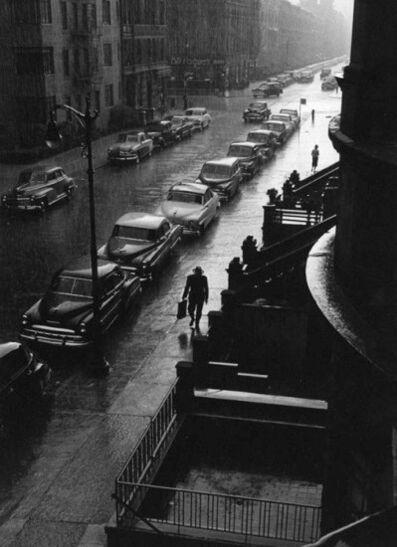 Ruth Orkin, 'Man in Rain, New York City', 1952