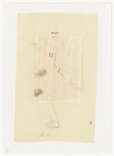 Gerhard Hoehme, 'naa', 1973