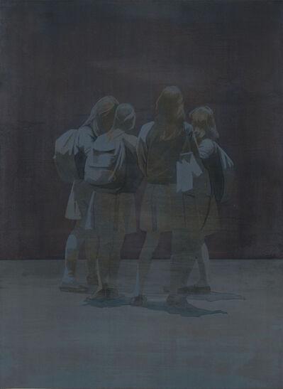 Tim Eitel, 'White Skirts (Amerikanische Nacht)', 2012