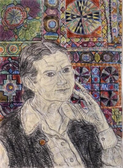 Leonard McComb R.A., 'Portrait of Doris Lessing', 1999
