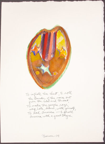 John Ransom Phillips, 'To inflate the chest...', 2004