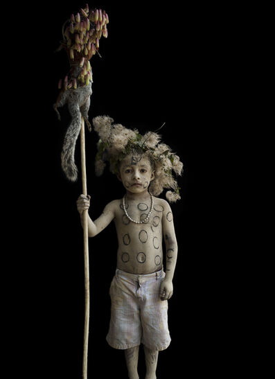 "Iwajla Klinke, 'Huastecan Cherubim"" Mexico (2)', 2018"