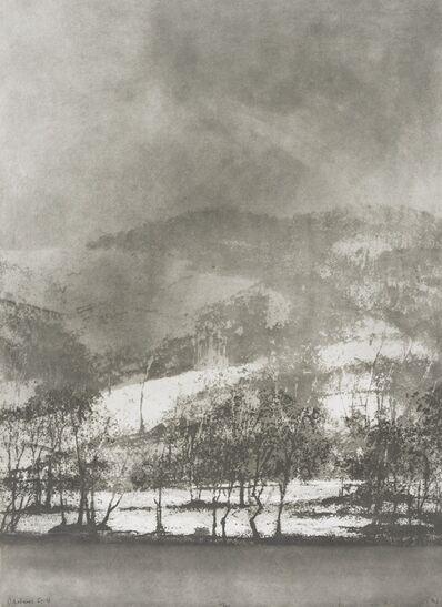 Norman Ackroyd, 'Cartmell Fell- Windermere', 1966