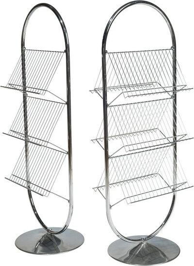 Verner Panton, 'Pair of Magazine Racks'