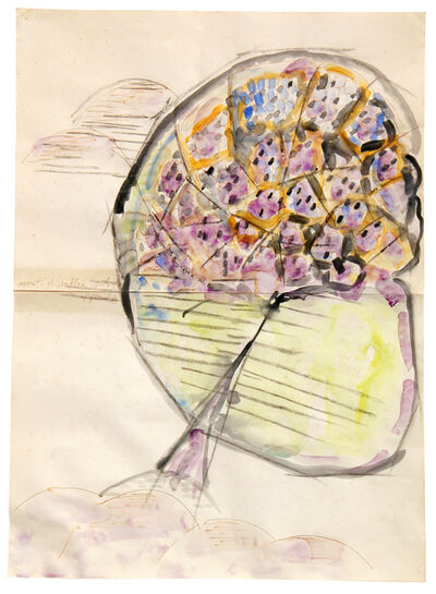 Mario Merz, 'Monti di sabbia solitari', 1985