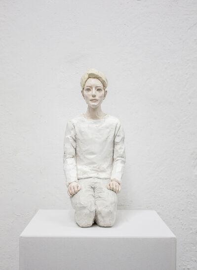 Hirofumi Fujiwara, 'utopian (grayyellow)', 2020