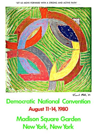 Frank Stella, 'Democratic National Convention', 1980