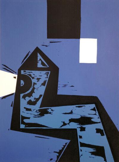 Charlie Hewitt, 'Blue Tower', 2020