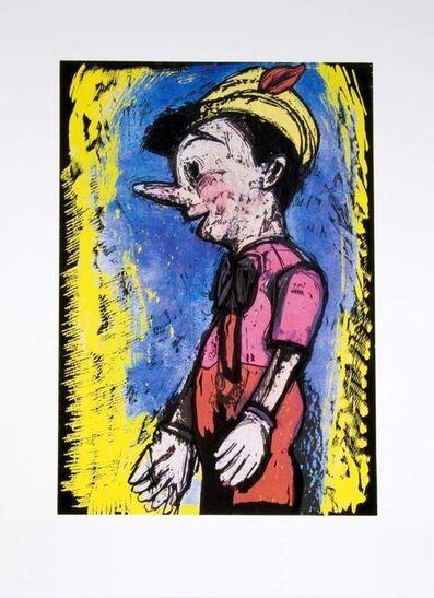 Jim Dine, 'Lincoln Center Pinocchio', 2008