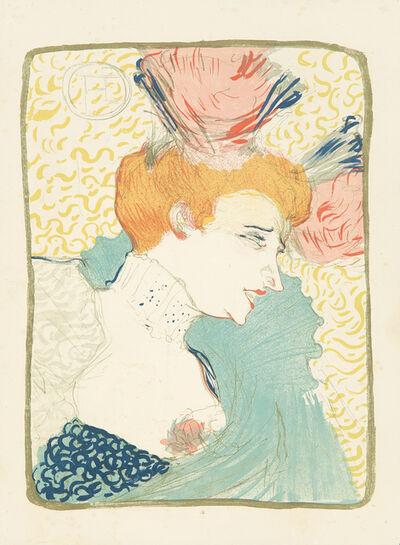 Henri de Toulouse-Lautrec, 'Marcelle Lender, en Buste.', 1895