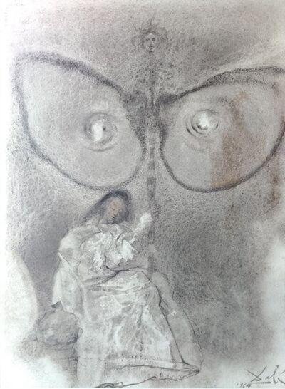 """Salvador Dalí, 'Antequam exires de vulva sanctificavi te - From """"Biblia Sacra""""', 1964"""