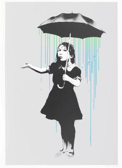 Banksy, 'Nola (Blue Green Rain)', 2008