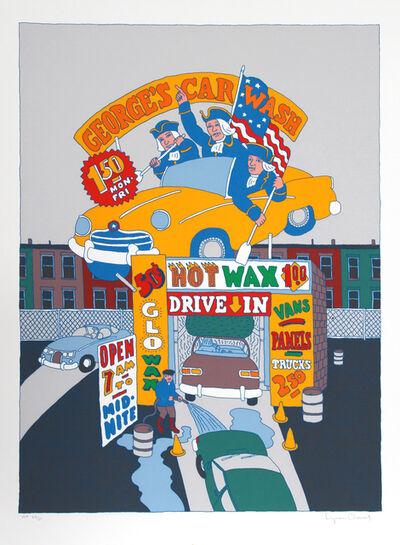 Seymour Chwast, 'George's Car Wash', ca. 1979