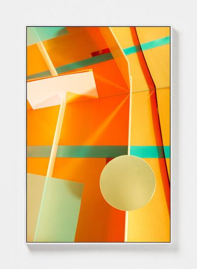 Lydia Wegner, 'Orange Push', 2019