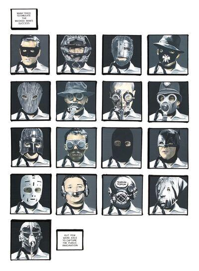 Dotty Attie, 'Masked Men', 2012-2013
