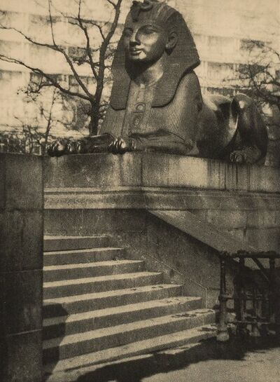 Alvin Langdon Coburn, 'On the Embankment; The Rudder'