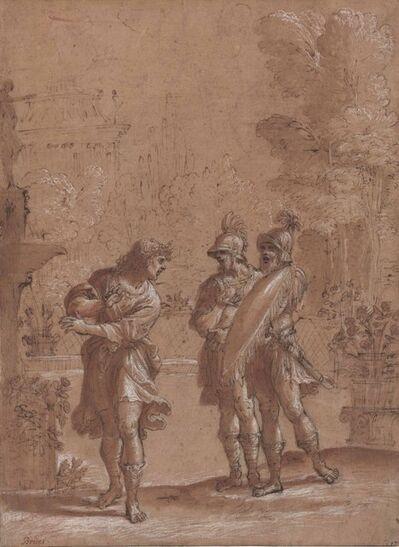 Francesco Brizio, 'Carlo and Ubaldo in the enchanted garden of Armida'