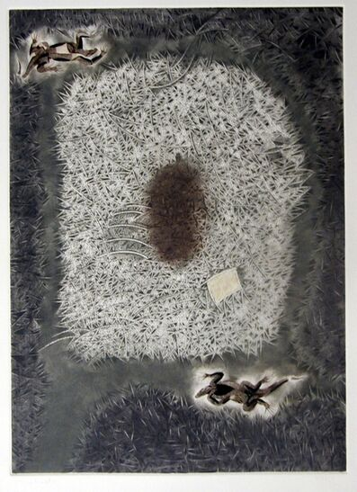 Francisco Toledo, 'Dos Iguanas', 1976