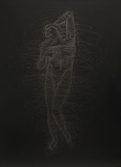 Yazid Oulab, 'L'ESCLAVE MOURANT ', 2013