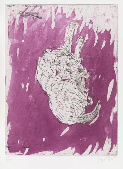 """Georg Baselitz, 'Quarto, from """"Schlafende Hunde""""', 1998-1999"""